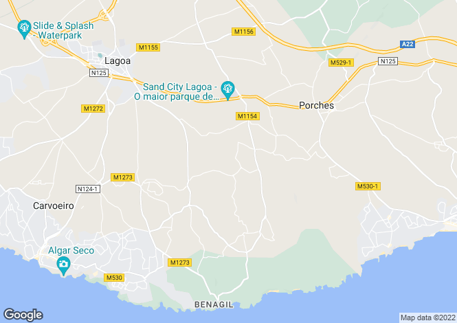 Map for 2 bedroom  Town House, on Quinta Do Rosal Resort, Portugal