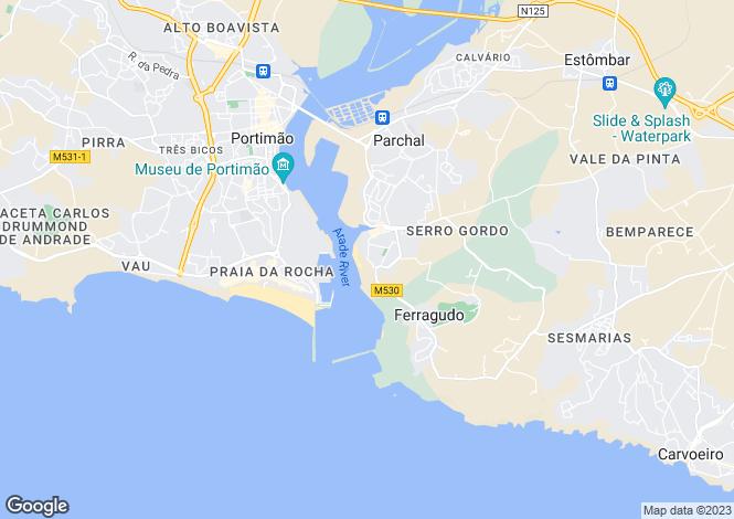 Map for Lagoa Algarve