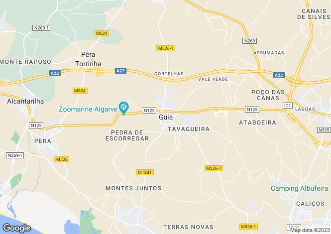 Map for Albufeira, Portugal
