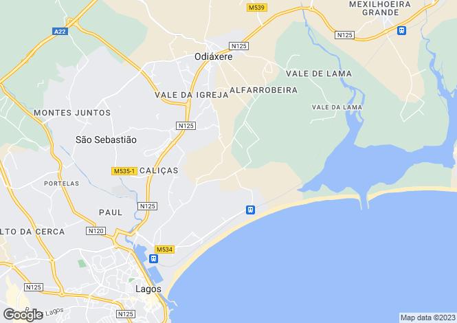 Map for Lagos, Algarve, 8600, Portugal
