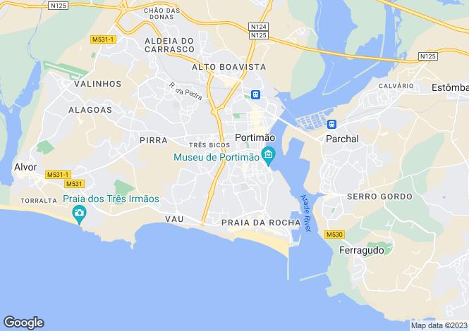Map for Portimão, Portimão, Faro