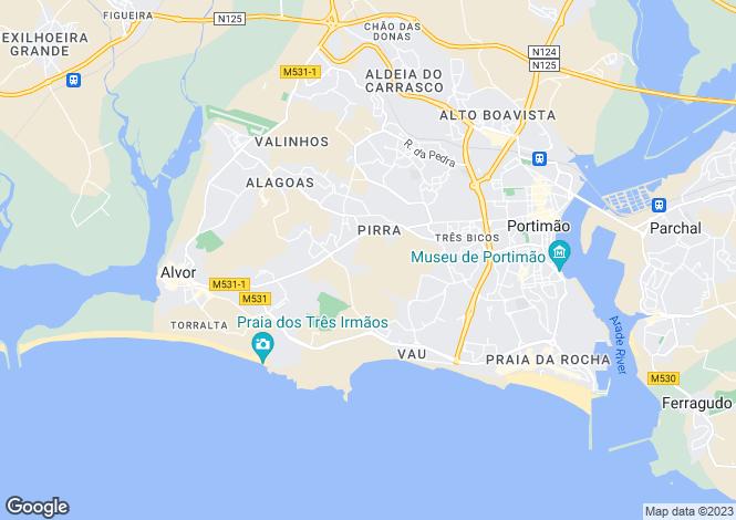 Map for Vale França, Portimão Algarve