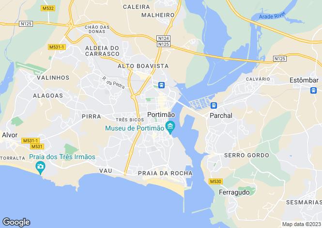 Map for Belmonte, Portimão, Portimão