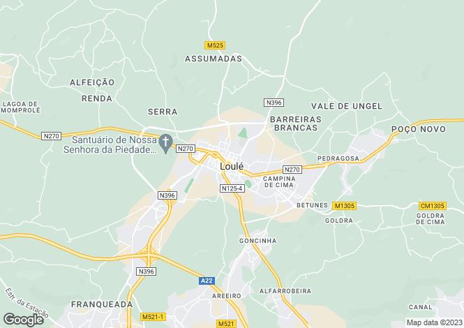 Map for Vale do Lobo, Almancil, Loulé