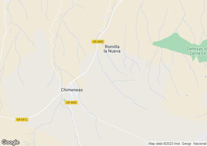 Map for Chimeneas, Granada, Spain