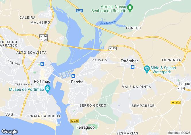 Map for Lagoa, Algarve