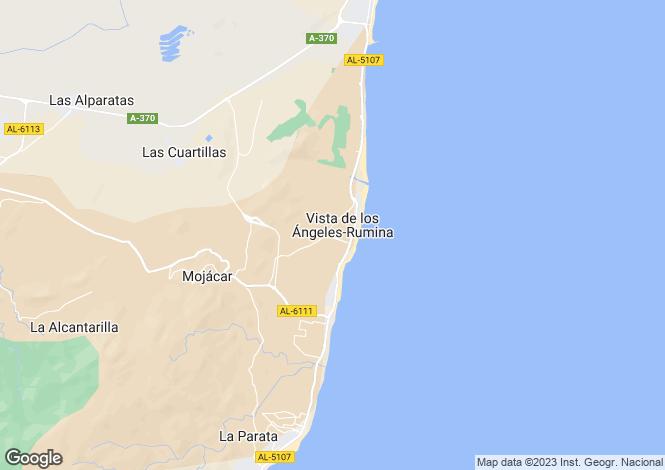Map for Mojácar, Almería, Andalusia