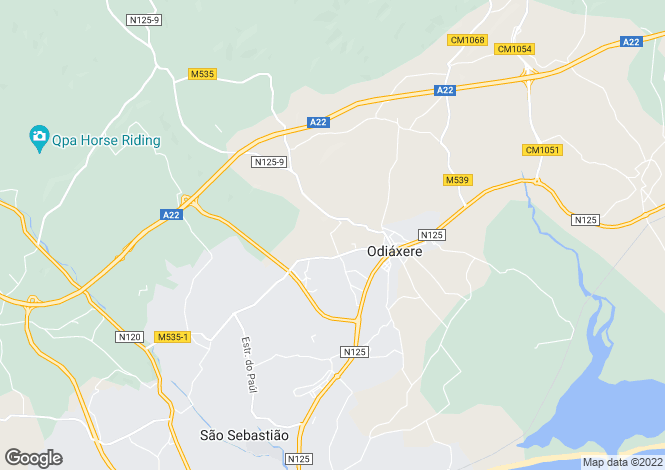 Map for Odiaxere, Algarve, 8600-234, Portugal