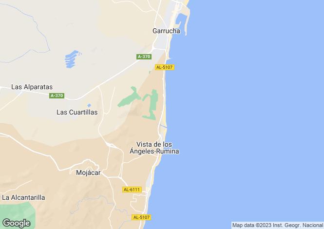 Map for 4 bedroom house in Mojacar, Almeria, Spain