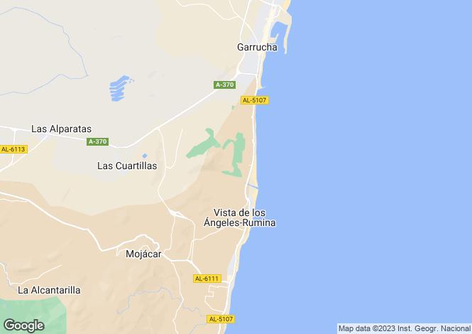 Map for Andalucia, Almería, Mojácar
