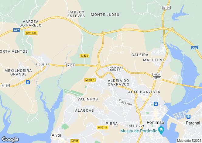 Map for Penina, Portimão Algarve