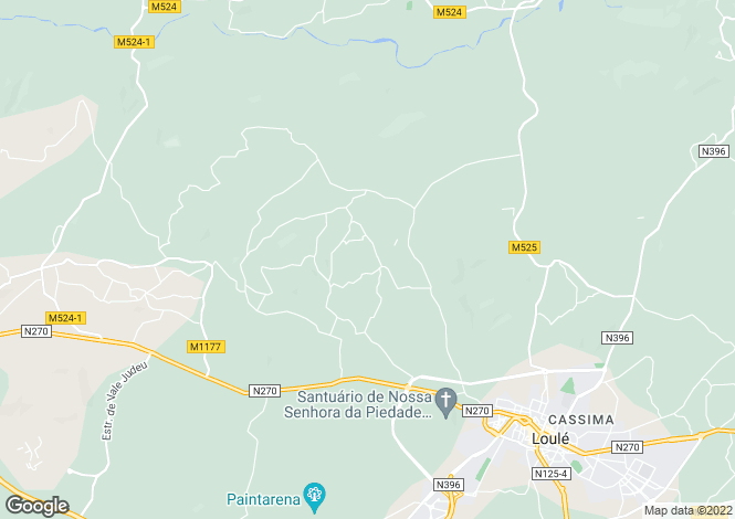 Map for Brand new south facing 5 Bed Villa with distant sea views, Loule