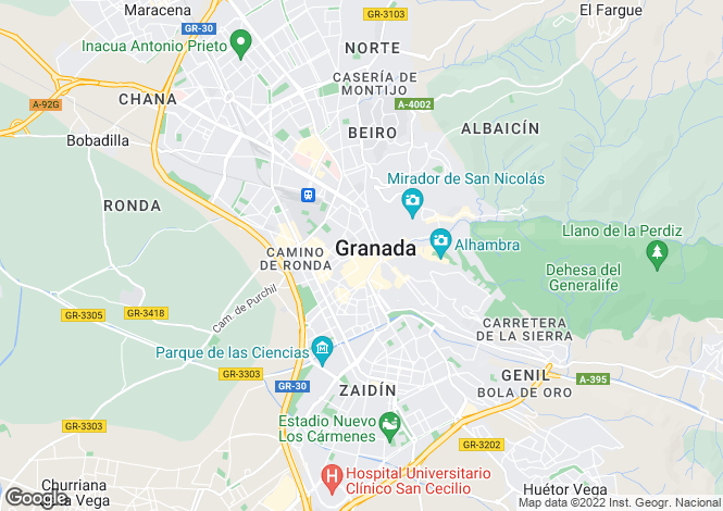 Map for Detached Villa Castril Granada