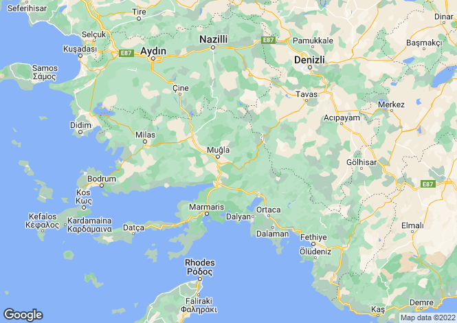 Map for Marmaris, Marmaris, Mugla