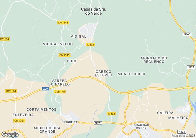 Map for Alvor, Lagos, Algarve, Portugal