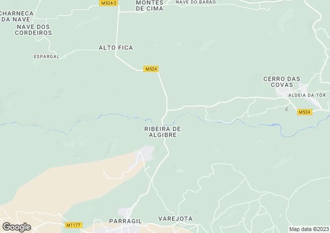 Map for Querença, Tôr e Benafim, Loulé, Faro