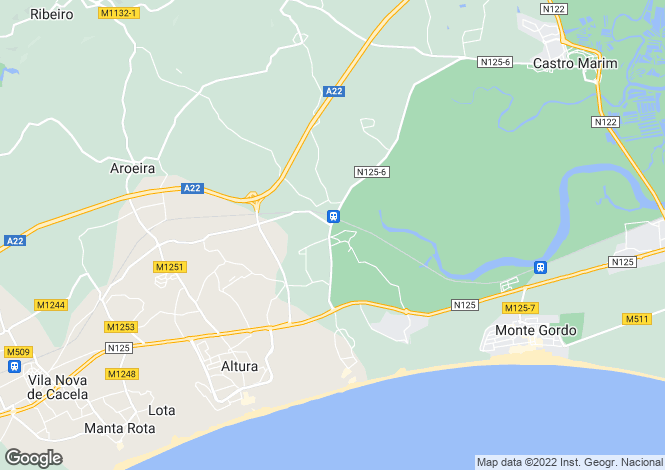 Map for Castro Marim, Castro Marim, Faro