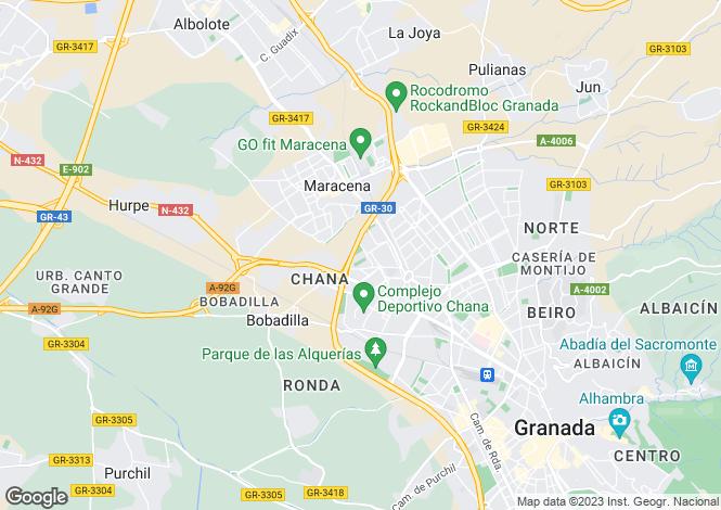 Map for Granada,Granada