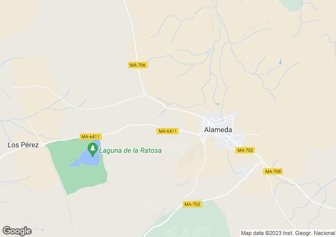 Map for Andalucia, Malaga, Alameda