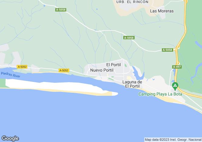 Map for El Portil, Huelva, Andalusia