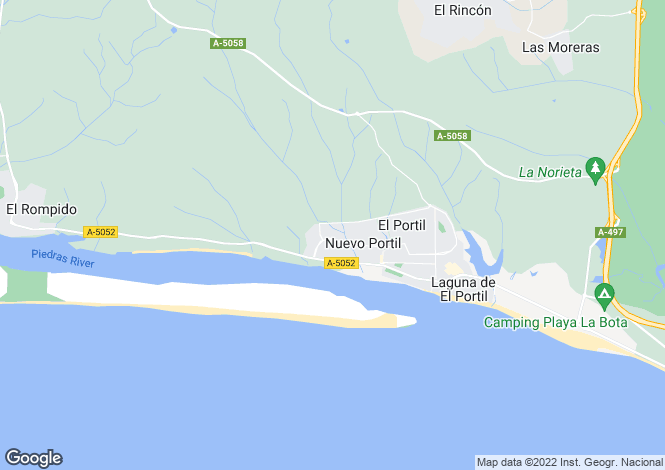 Map for El Portil, Huelva, Andalusia