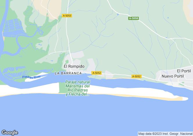 Map for El Rompido, Huelva, Andalusia