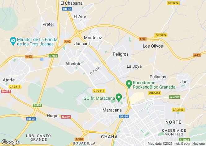 Map for Andalucia, Granada, Albolote