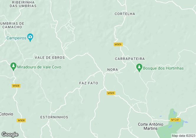Map for Vila Nova de Cacela, Faro, Portugal
