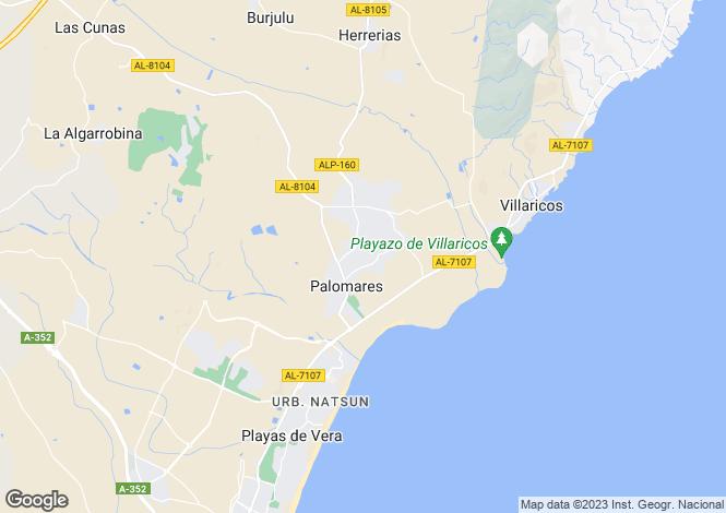 Map for Palomares, Almería, Andalusia