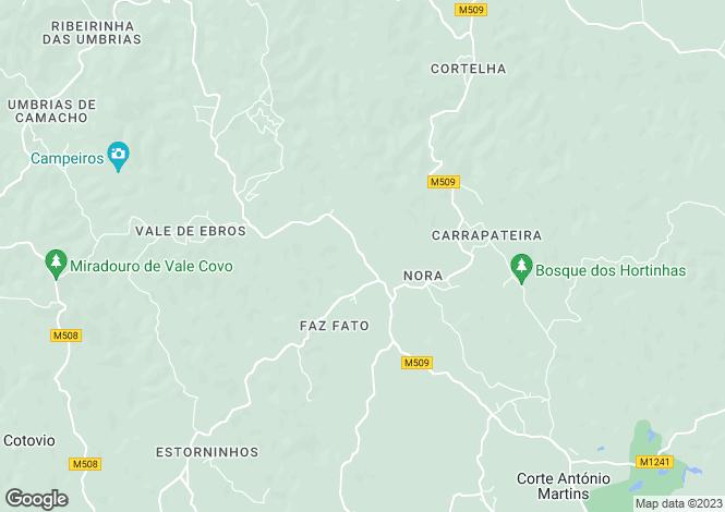 Map for Conceicao e Cabanas de Tavira, Faro, Portugal