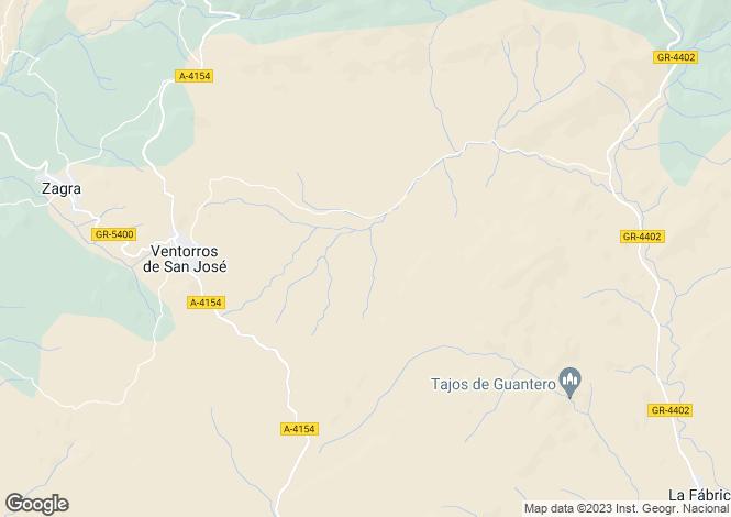Map for Ventorros de San Jose, Granada, Spain