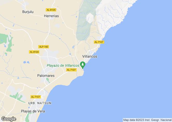 Map for Villaricos, Almería, Andalusia