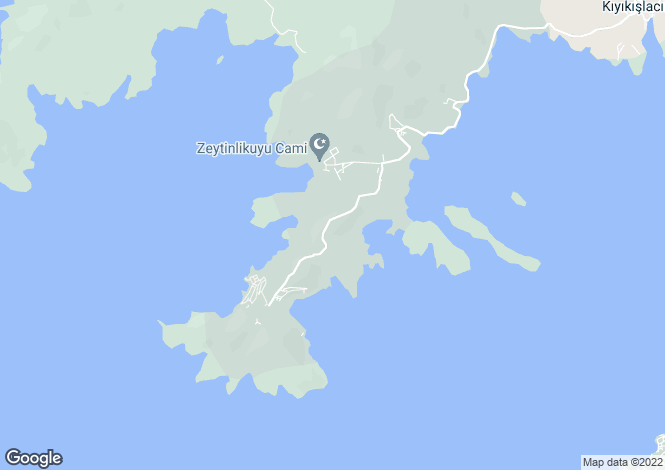 Map for Bodrum, Mugla,  Turkey
