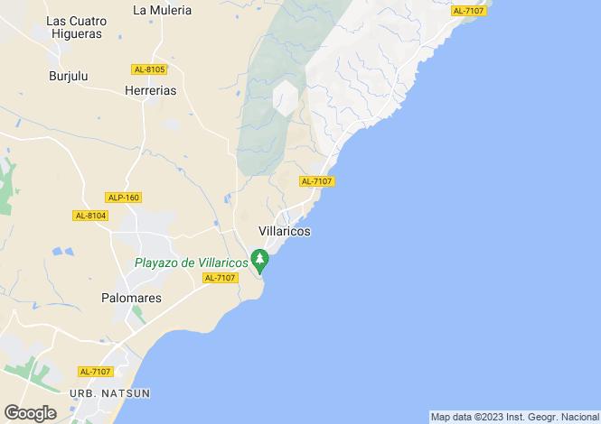 Map for Andalucia, Almería, Villaricos
