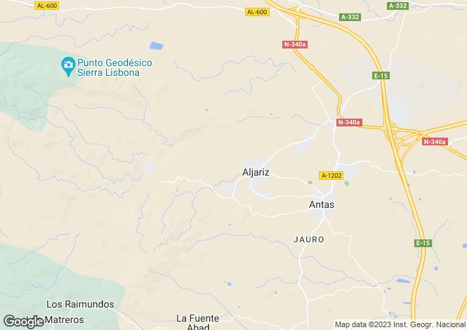 Map for Andalusia, Almería, Antas