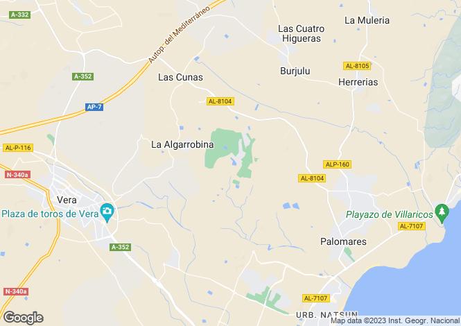 Map for Cuevas de Almanzora, Spain