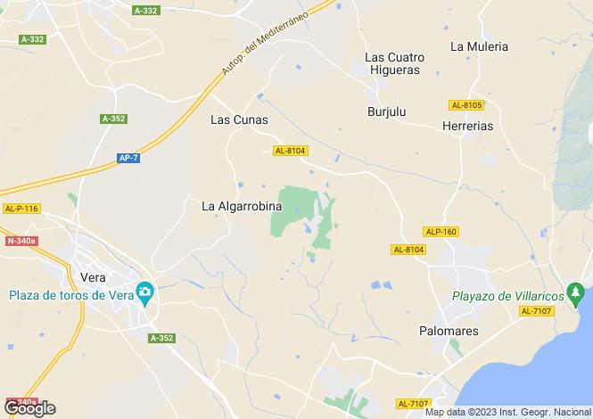 Map for Andalucia, Almería, Cuevas Del Almanzora