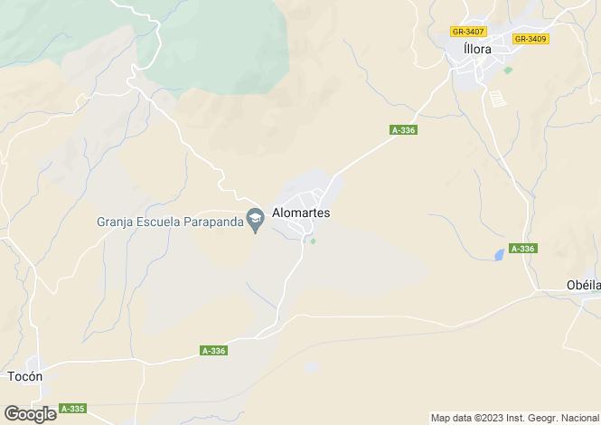 Map for Alomartes, Granada, Andalucia