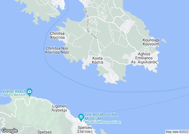 Map for Portocheli, Argolis, Peloponnese