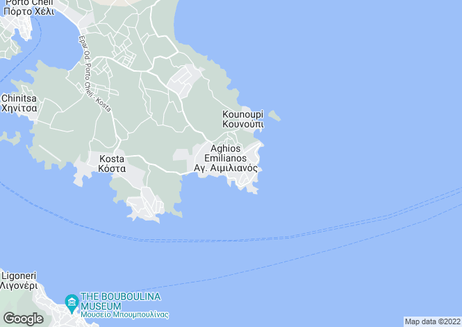 Map for Peloponnese, Argolis, Portocheli