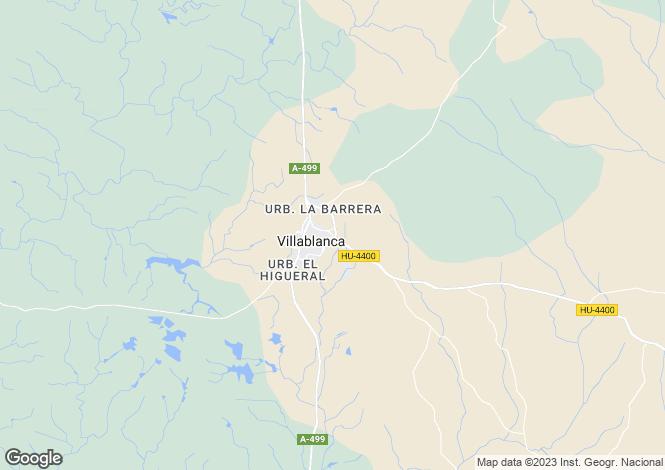 Map for Villablanca, Huelva, Andalusia