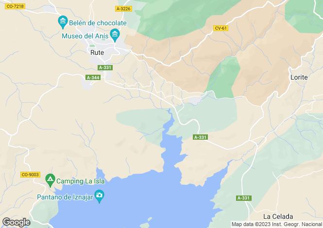 Map for Rute, Cordoba, Spain