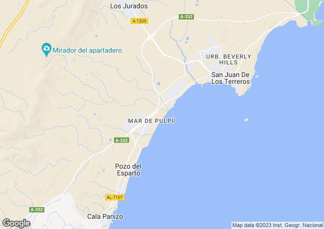 Map for Mar de Pulpi, Spain
