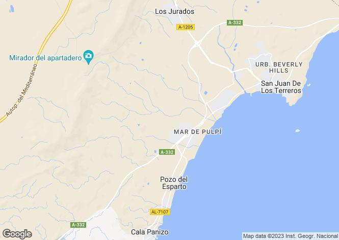 Map for Pulpí, Almería, Andalusia
