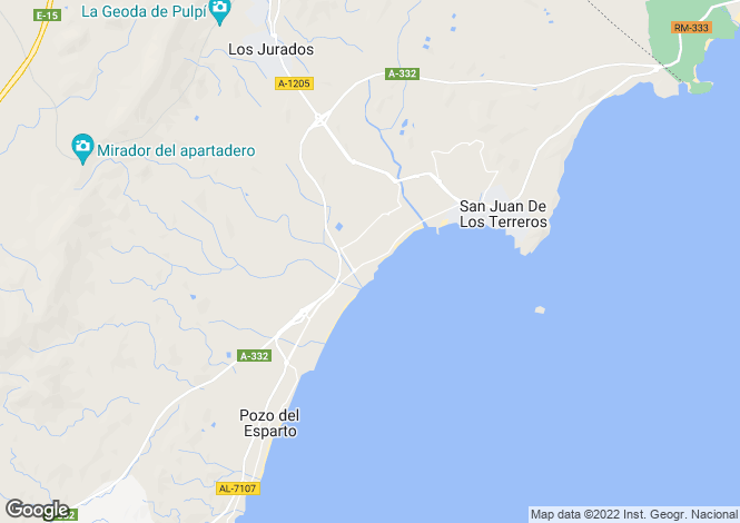 Map for REF - SJG03 ,San Juan De Los Terreros ,Almeria ,Spain