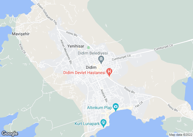 Map for Didim, Didim, Aydin