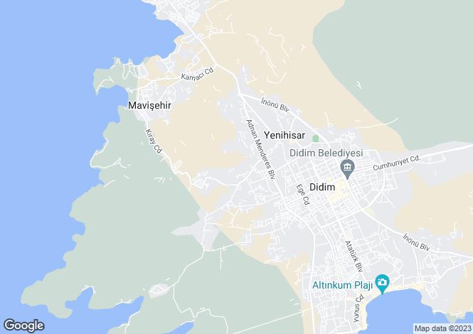 Map for Aydin, Didim, Altinkum