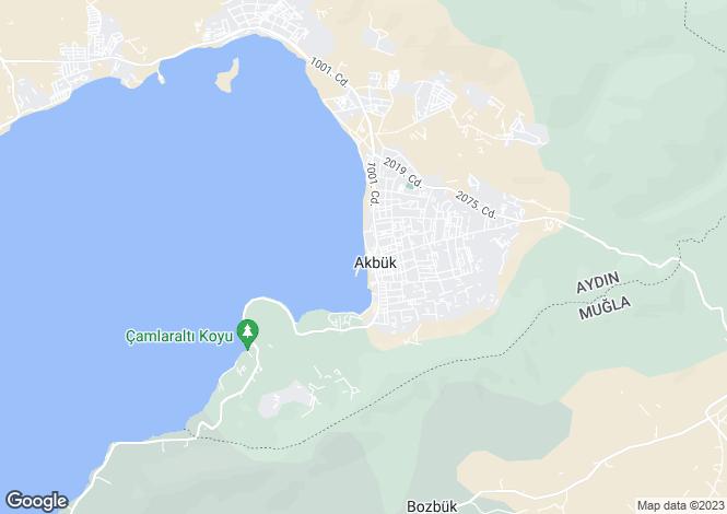 Map for Aydin, Didim, Akbuk