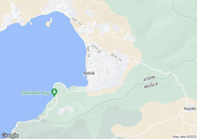 Map for Akbuk, Didim, Aydin
