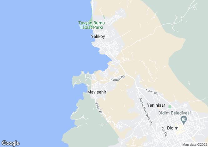 Map for Aydin, Didim, Mavisehir